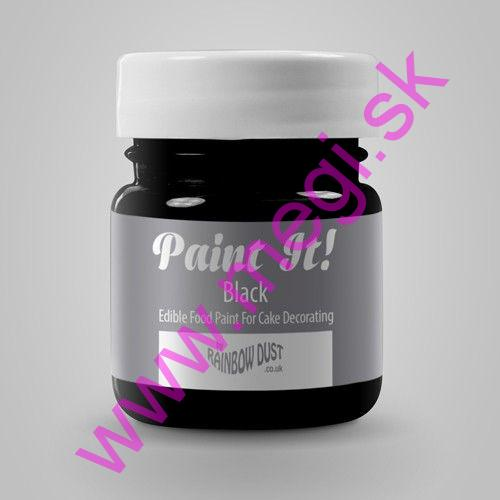 RD Paint it! Colours - Black 25ml