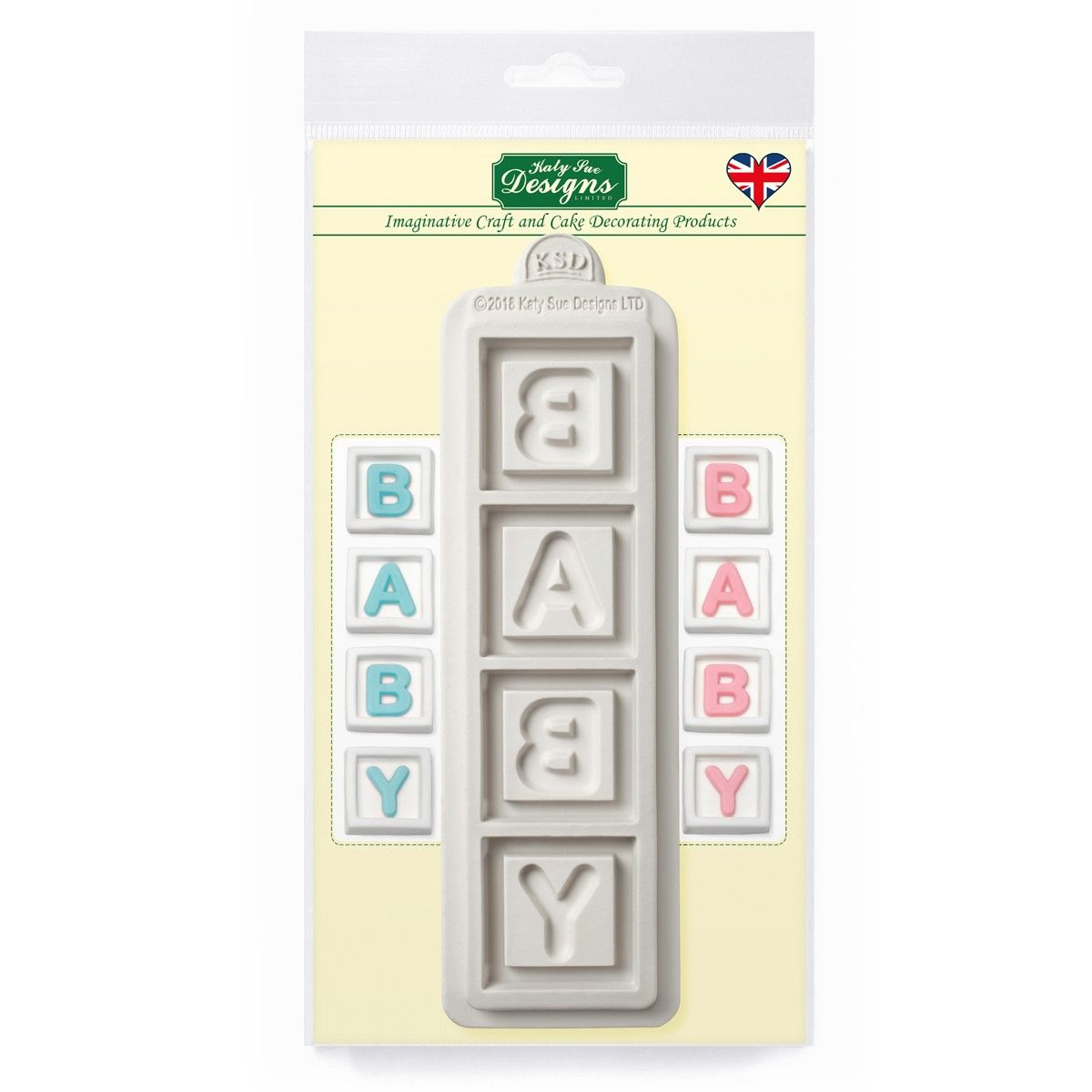 Forma Baby blok, CE0074 Katy Sue Mould - Baby Blocks