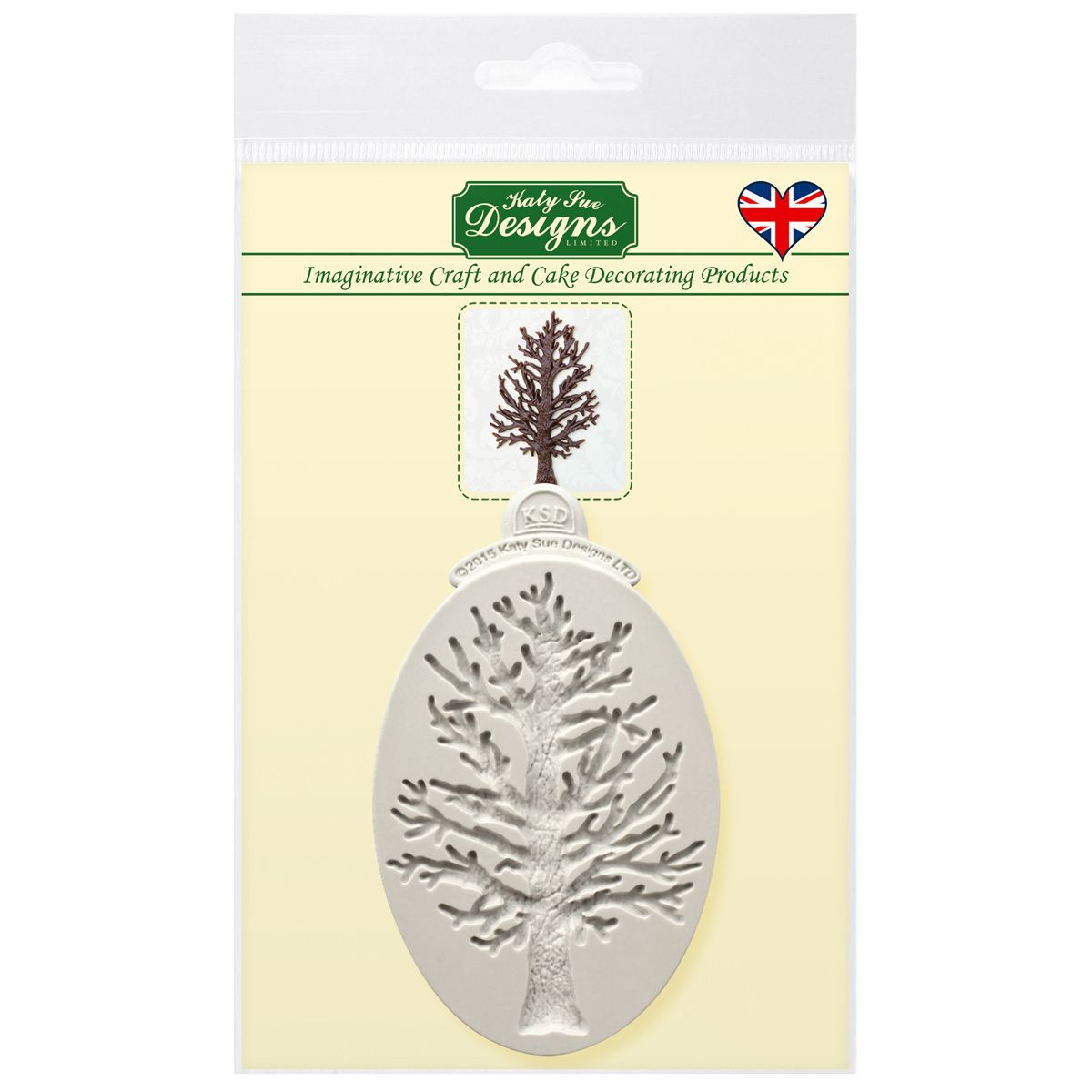 Forma Malý strom silueta, CE0053 Katy Sue Mould Little Tree Silhouette