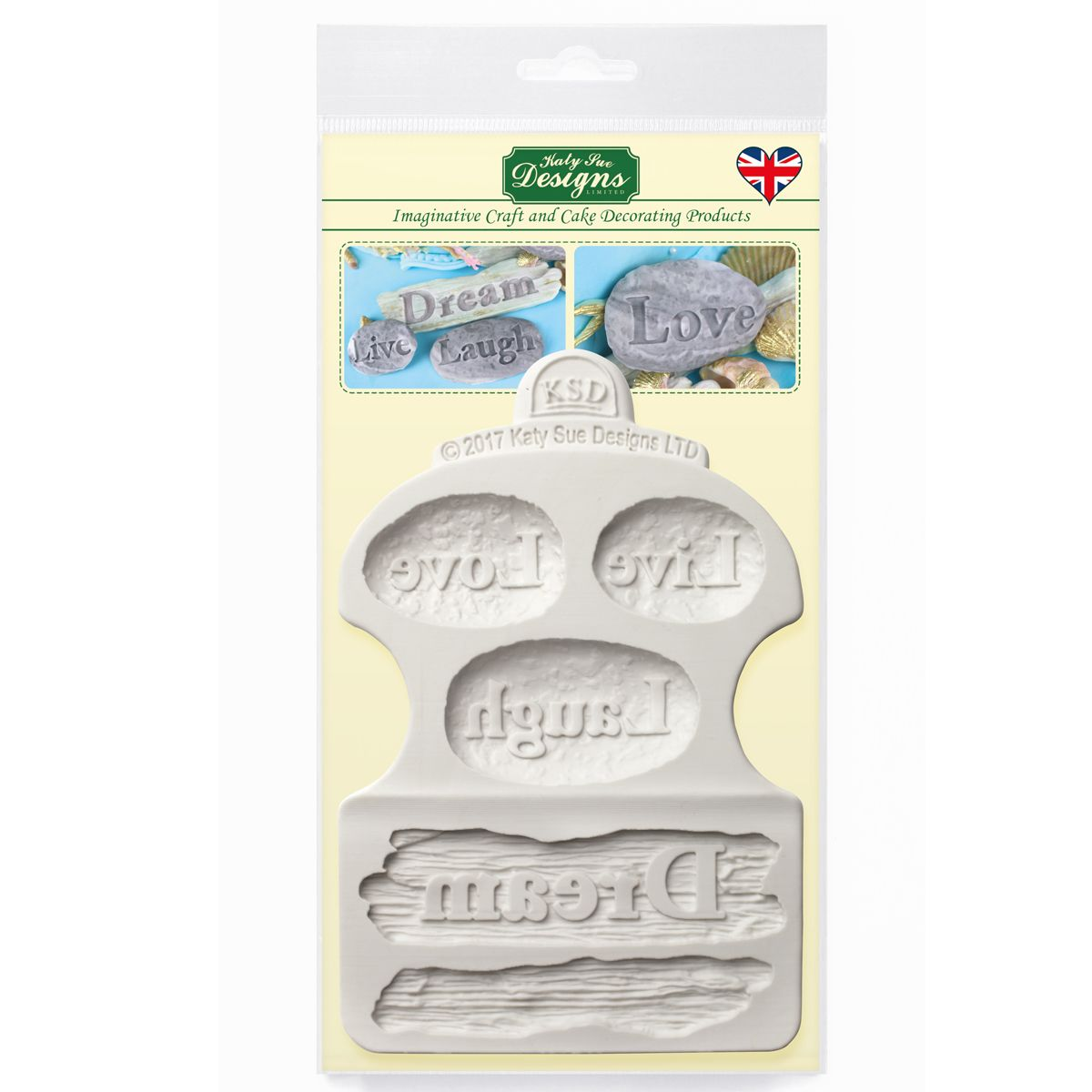 Forma Mould Driftwood a Word Stones CE0071, Katy Sue