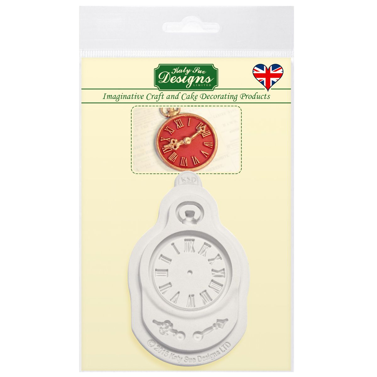 Forma na hodinky, Mould Clock, Katy Sue - CE0036