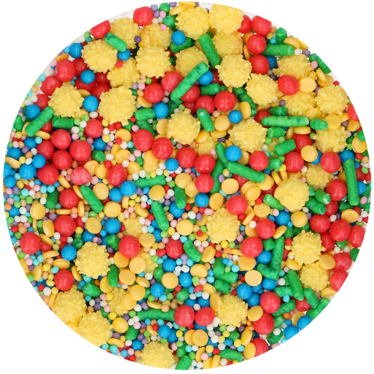 Posyp Fun Cakes - Sprinkle Medley - Circus 65g, G41744